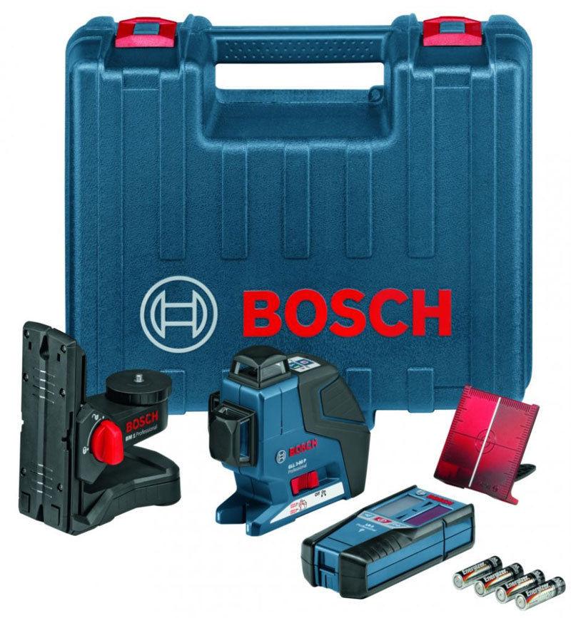 Bosch Tracciatore Livella laser GLL3-80P multifunzione universale con BM1 e LR2  eBay