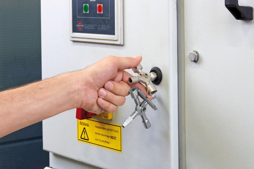 armadio per quadro elettrico: in lega di zinco ab401 elettrico
