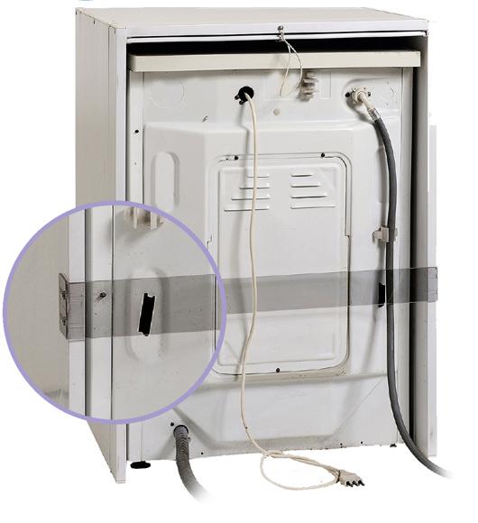 Mobile coprilavatrice a serrandina in resina L67xP59xH91cm protezione ...