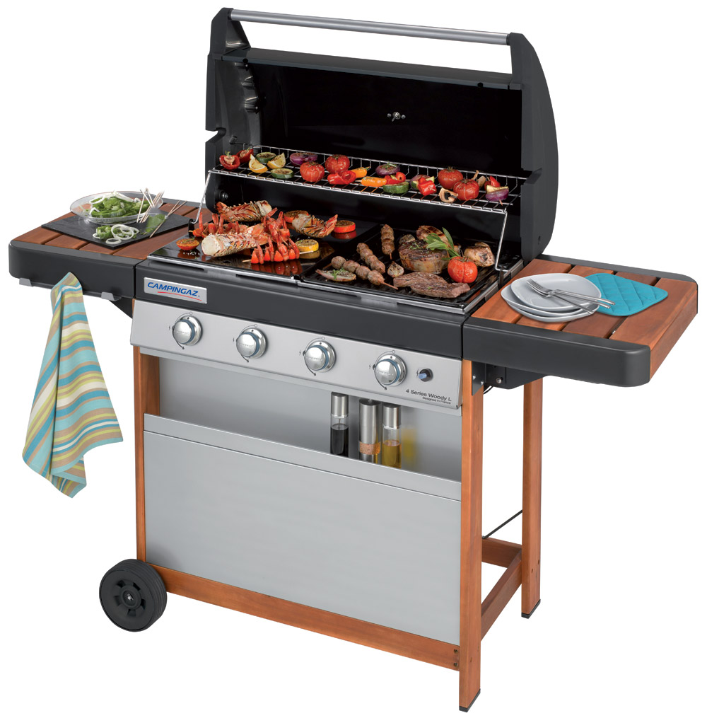 campingaz bbq gas series 4 l woody barbeque barbecue. Black Bedroom Furniture Sets. Home Design Ideas