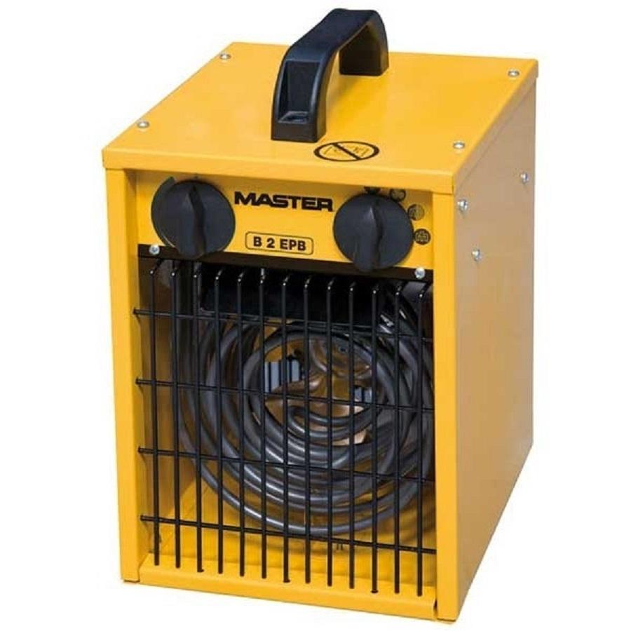 Master Generatore di aria calda elettrico ventilatore calore riscaldatore B 2EPB  eBay