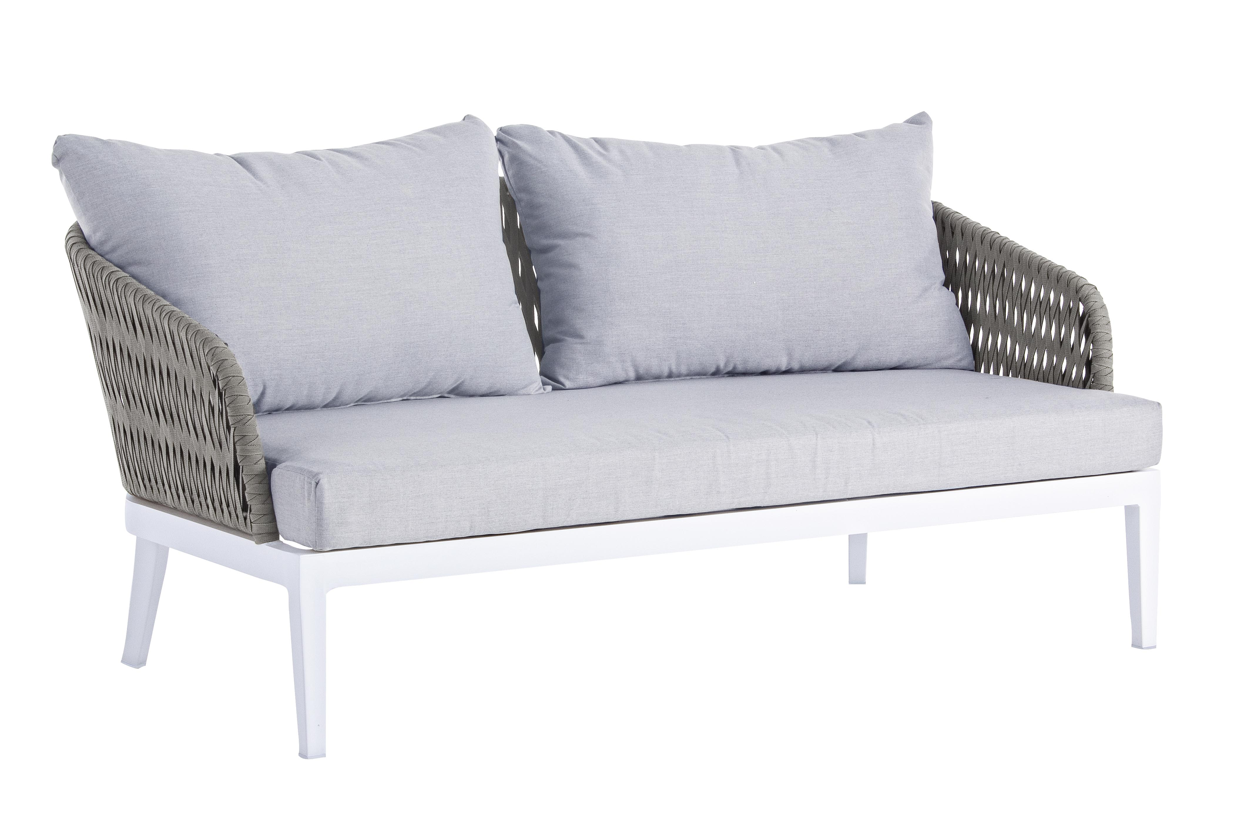 Cuscini Idrorepellenti Per Esterno dettagli su divano 2/3 posti pelican con cuscini bizzotto 660151 per arredo  esterno casa