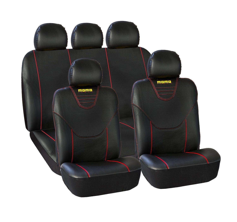 Nero e Grigio Coprisedili/Auto Universale Anteriori e Posteriori Copri-Sedile con Airbag Sistema Comfort