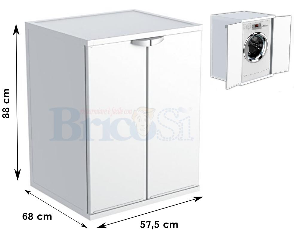 Mobile Proteggi Lavatrice Da Esterno dettagli su mobile coprilavatrice in resina da interno esterno copri  lavatrice asciugatrice
