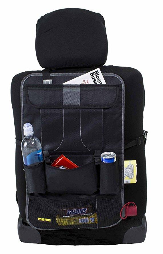 MGDAM custodia per sedile posteriore per auto organizer per bagagliaio per auto scatola per auto in rete custodia per seggiolino auto multi-tasca per SUV