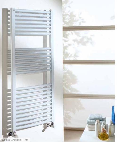 Scaldasalviette Radiatore Termoarredo CORDIVARI cm 140 x 50 int.45 Bianco