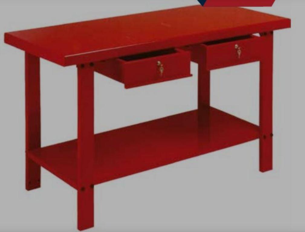 Banco Di Lavoro Con Cassetti : Banco da lavoro h porta utensili attrezzi con cassetti