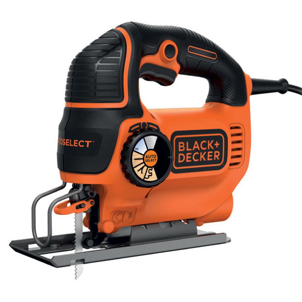 Black decker seghetto alternativo legno 550w autoselect for Tavolo lavoro black decker