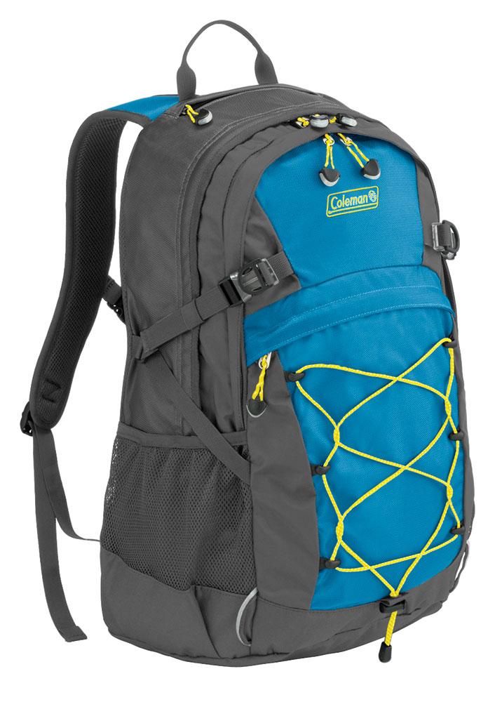 vendita calda online 1cae3 cb57e Dettagli su Coleman Zaino trekking poliestere 30 lt campeggio, escursioni  montagna Hayden