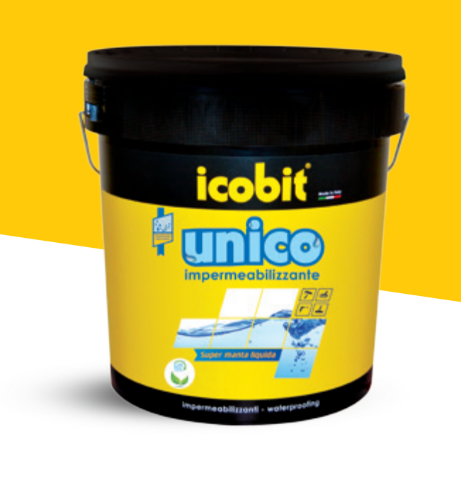 Icobit guaina liquida impermeabilizzante calpestabile per for Guaina liquida mapei calpestabile