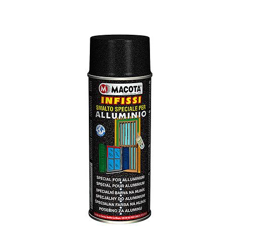 Macota infissi smalto vernice spray 400ml alluminio porte for Finestre in alluminio anodizzato