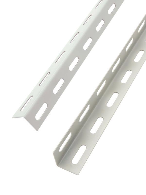 Scaffali In Metallo Roma.Dettagli Su Montante Angolare In Acciaio 300cm 35x35mm Per Scaffalatura Scaffali In Metallo