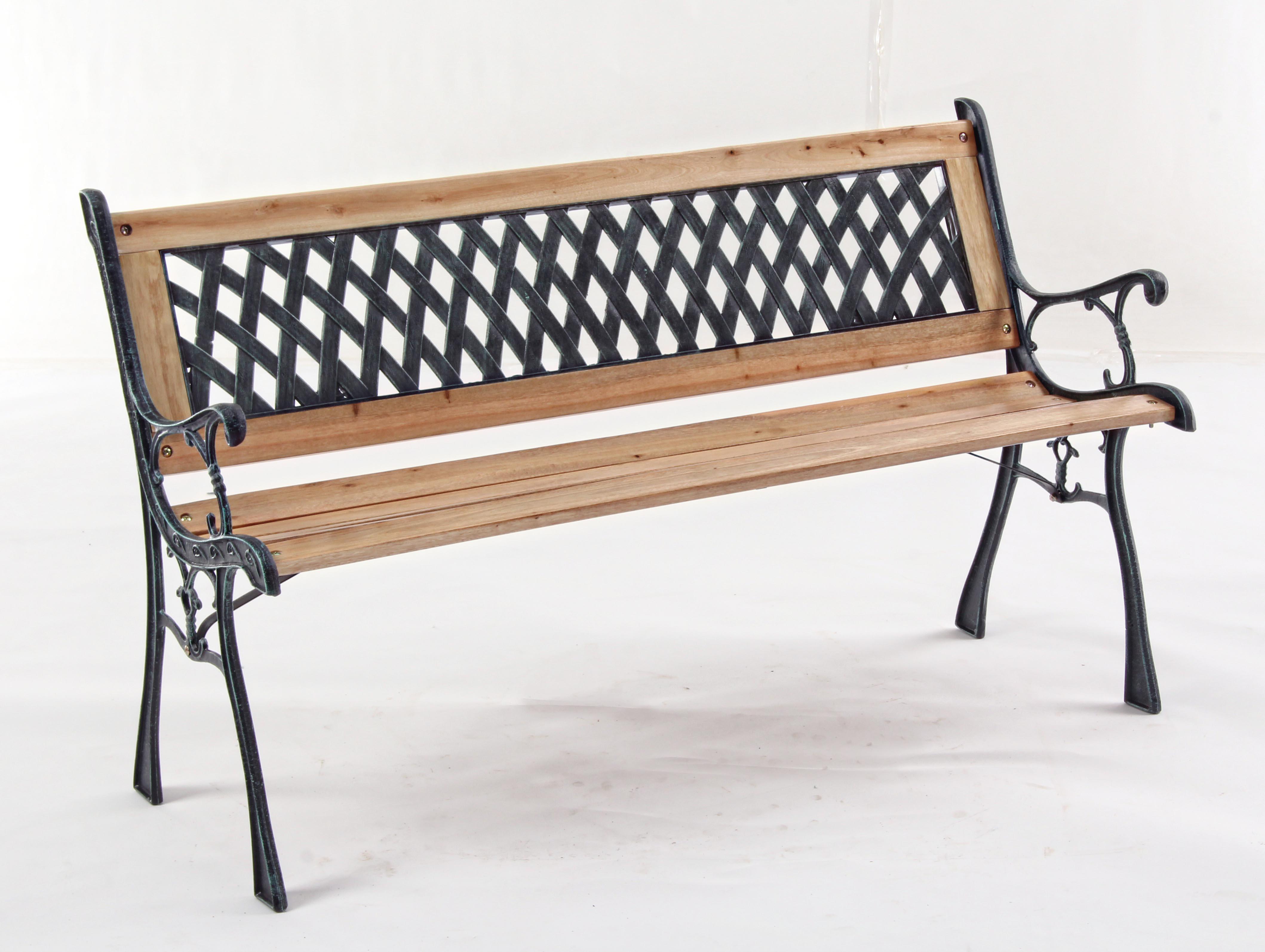 Panche In Ghisa.Dettagli Su Panchina Dafne In Ghisa E Legno Panca Da Giardino Schienale Lavorato 122x57x76h