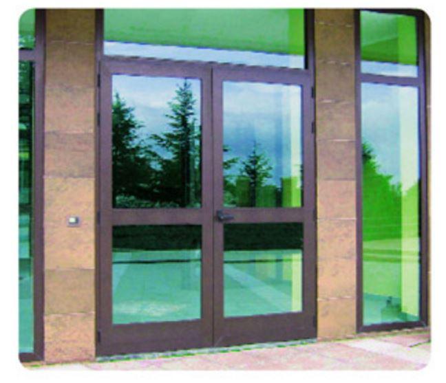 Pellicola adesiva specchio anti sguardo 75x240 porte porta - Finestre a specchio ...