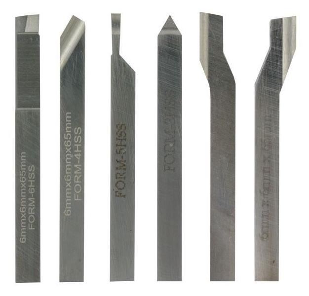 Proxxon 24524 serie 6 set utensili acciaio girevole 6x6mm for Tornio proxxon fd 150 e 24150