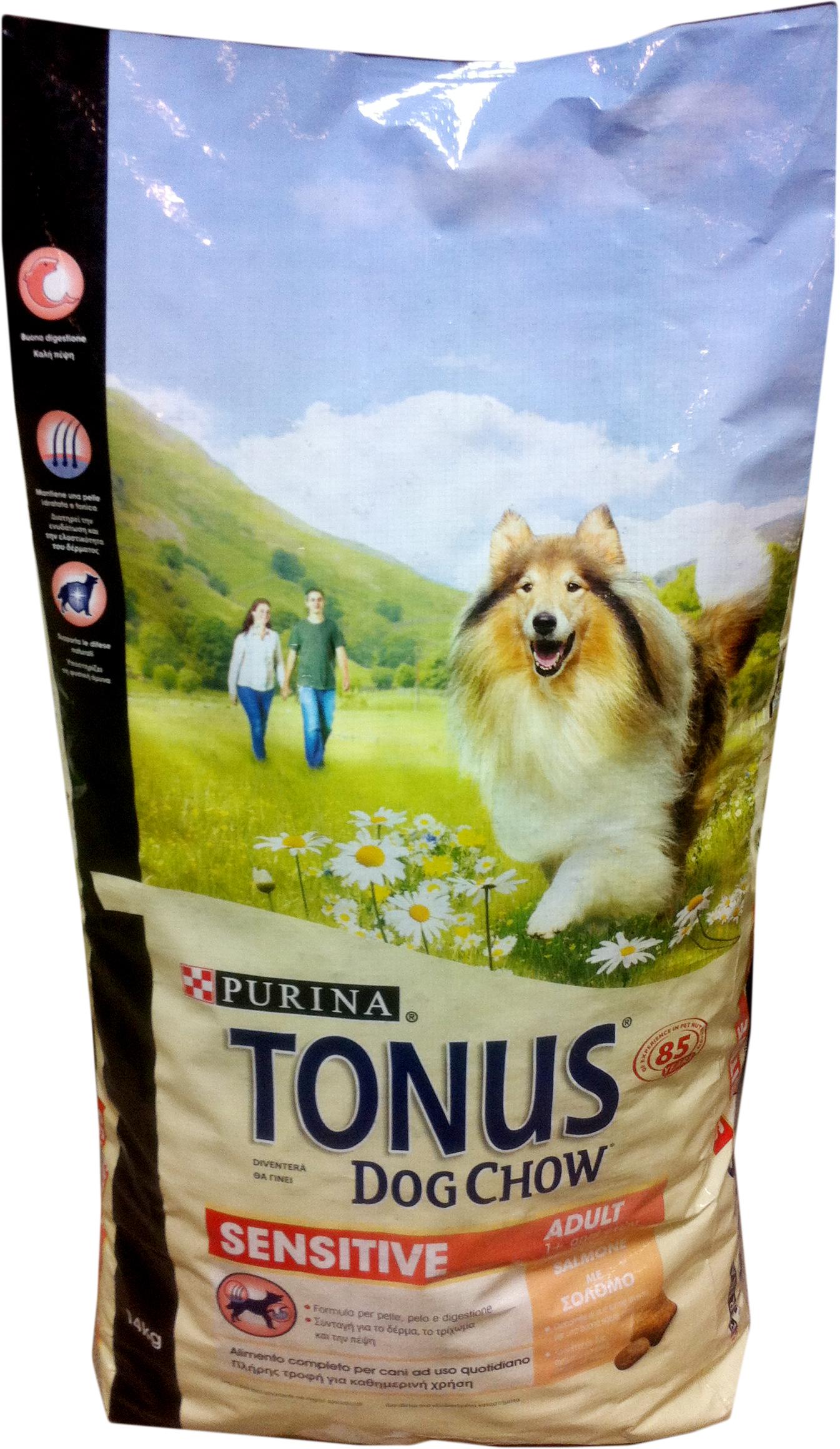 Purina Tonus Cibo Per Cani Completo Crocchette 14 Kg Sensitive Adult