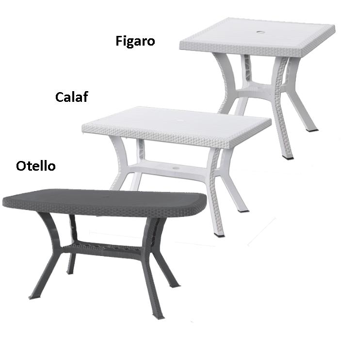 Arredo Esterno Plastica.Dettagli Su Tavolo In Plastica Da Giardino Tavoli Rattan Tavolino Resina Esterno Marrone