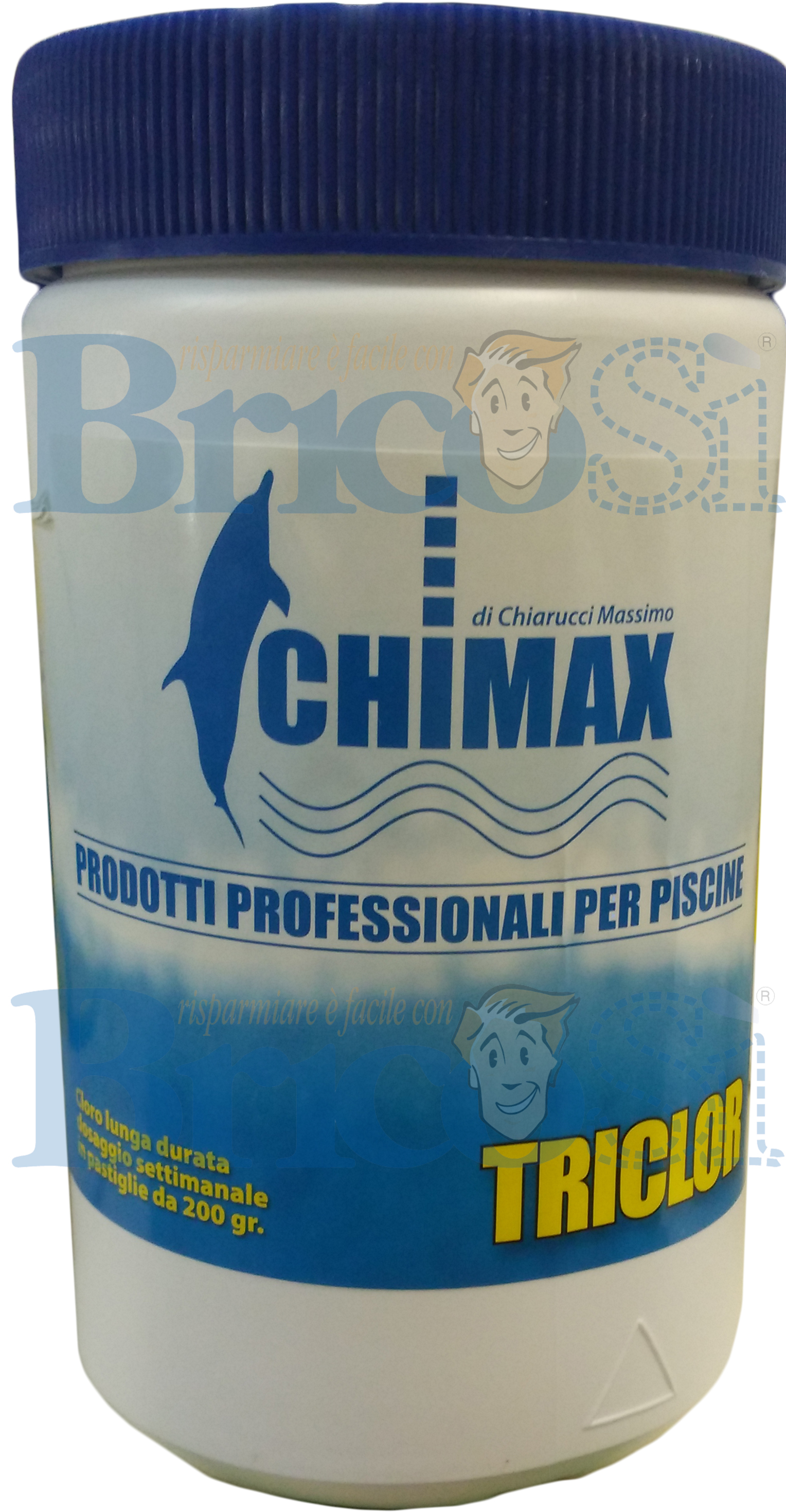 Pastiglie pasticche tricloro lenta dissoluzione cloro - Pastiglie piscina ...