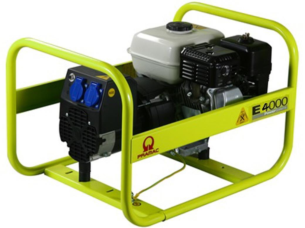 Pramac generatore corrente 2 8kw motore honda gx200 gruppo for Generatore di corrente honda usato
