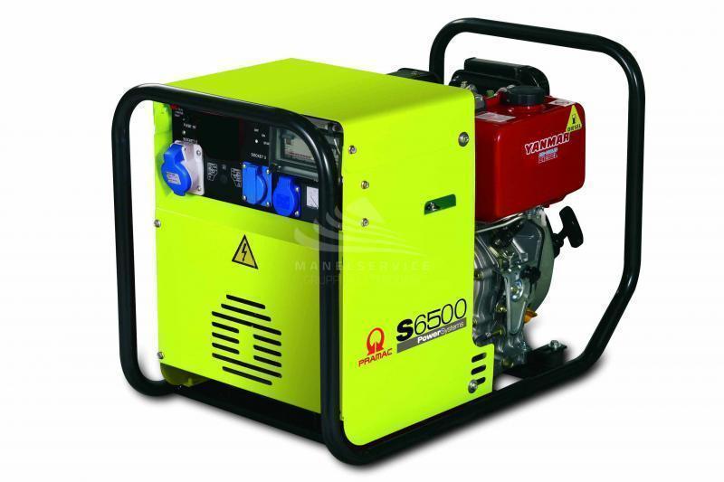 Pramac generatore di corrente 5 3kw motore diesel for Generatore di corrente con avviamento automatico