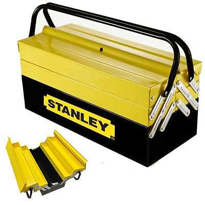 Cassetta 45x20x20cm porta attrezzi utensili idraulico - Cassetta porta attrezzi stanley con ruote ...