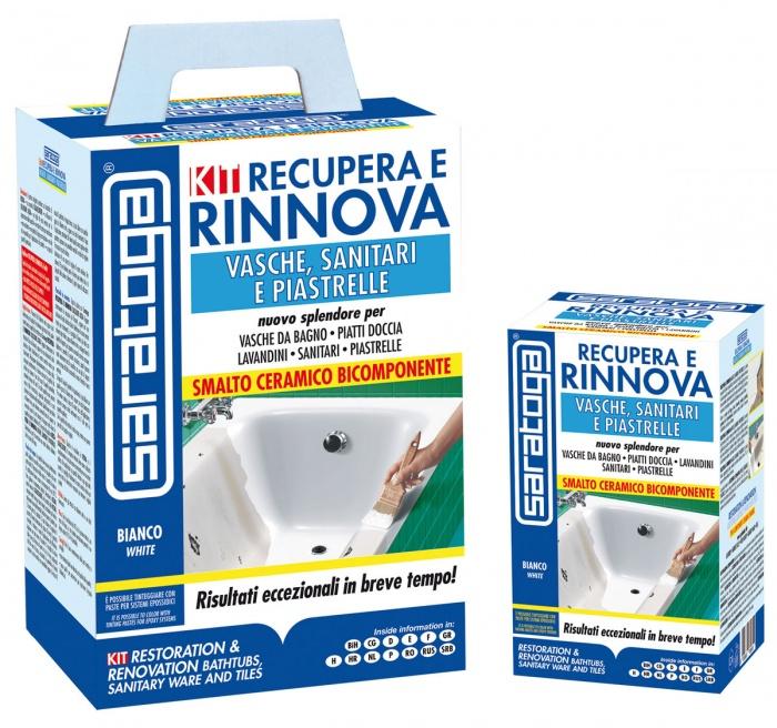 Saratoga smalto ceramico bicomponente 375ml per ceramiche recupera rinnova ebay - Smalti bicomponenti per pitturare piastrelle o ceramiche ...
