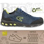 Scarpe da lavoro Antinfortunistica basse S1 Cofra Reused Eco Friendly