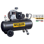 Compressore aria bistadio 200 LT 4hp Cilindro in ghisa NB4/4CT/200 Professionale