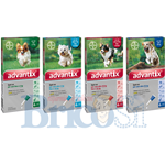 ADVANTIX BAYER SPOT ON ANTIPARASSITARIO PULCI ZECCHE CANI 0-25KG 1-4 PIPETTE