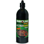 DIAVOLINA ACCENDIFUOCO LIQUIDO 750ML ACCENSIONE RAPIDA STUFE CAMINI BARBECUE